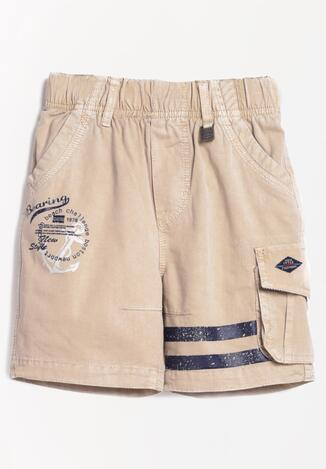 Pantaloni scurți Bej închis
