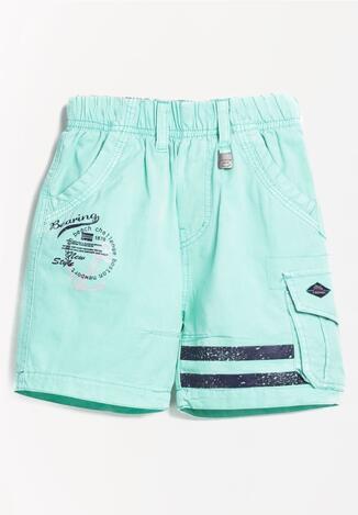 Pantaloni scurți Verde mentă