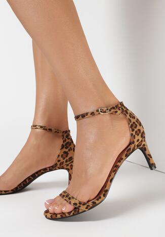 Sandale Print leopard