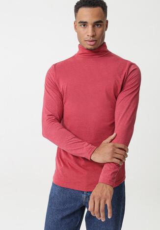 Pulover pe gât Roșu