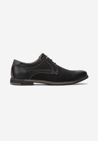Pantofi casual Negru cu gri