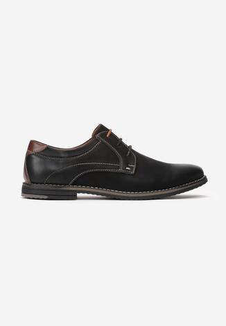 Pantofi casual Negru cu maro