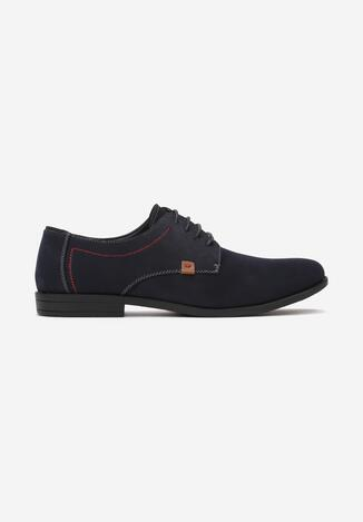 Pantofi casual Bleumarin cu roșu