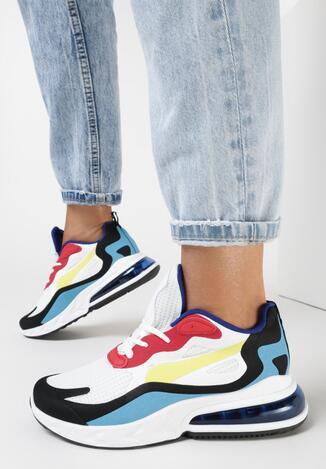 Sneakers Alb cu roșu