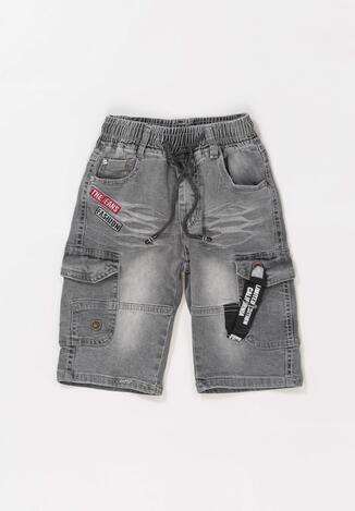 Pantaloni scurți Gri închis