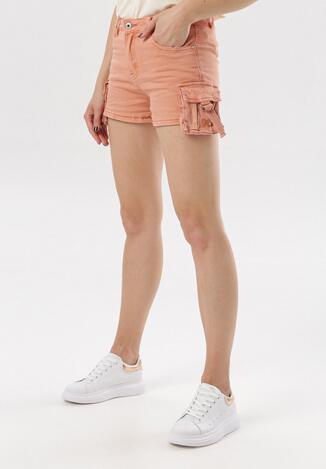 Pantaloni scurți Roz somon