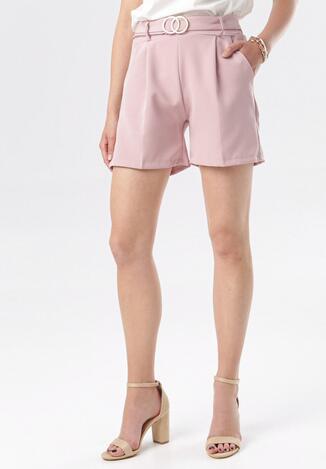 Pantaloni scurți Roz deschis