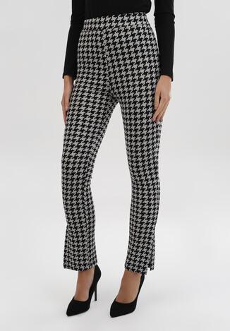 Pantaloni Negru cu gri