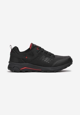 Pantofi sport Negru cu roșu