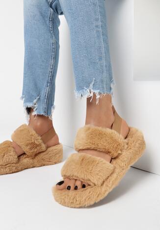 Papuci de casă Camel