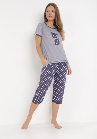 Compleu pijama Bleumarin
