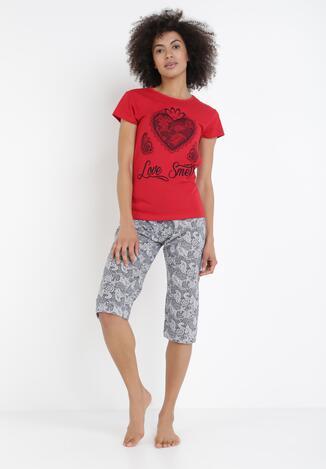 Compleu pijama Roșu