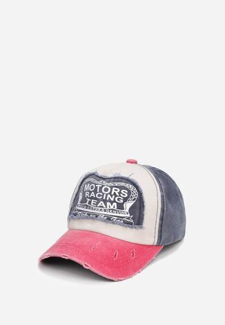 Șapcă Bleumarin cu roșu