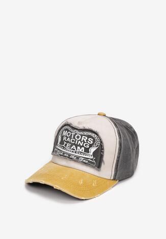 Șapcă Gri cu galben