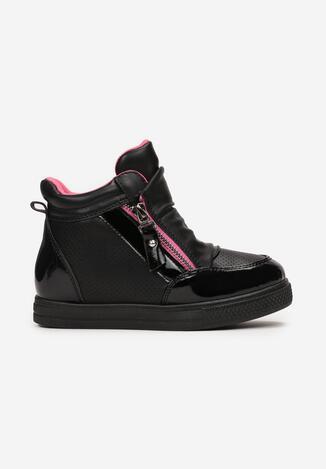 Pantofi sport Negru cu fucsia
