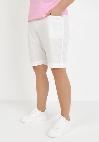 Pantaloni scurți Albi