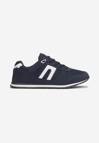 Pantofi sport Bleumarin cu alb