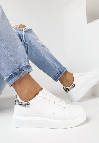 Pantofi sport Print piele de șarpe