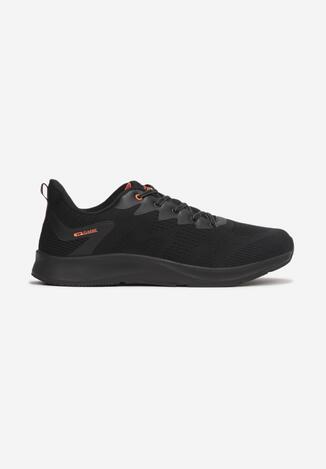 Pantofi sport Negru cu portocaliu