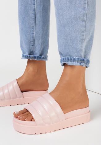 Papuci Roz deschis