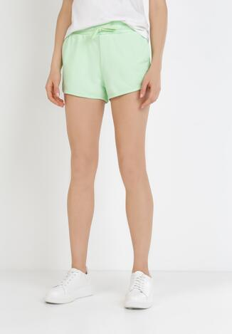 Pantaloni scurți Verde deschis