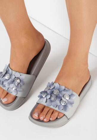 Papuci Gri
