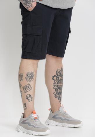 Pantaloni scurți Bleumarin