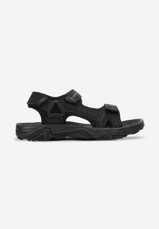 Sandale Negru cu gri