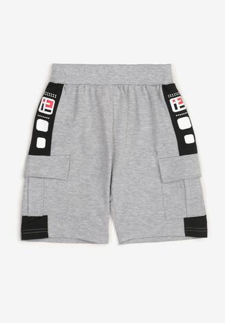 Pantaloni scurți Gri deschis