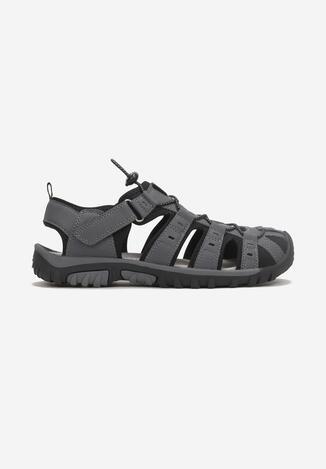 Sandale Gri cu negru