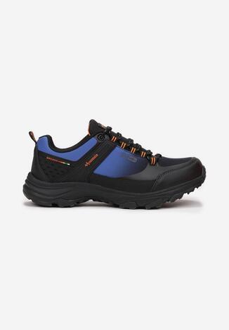 Pantofi trekking Negru cu albastru