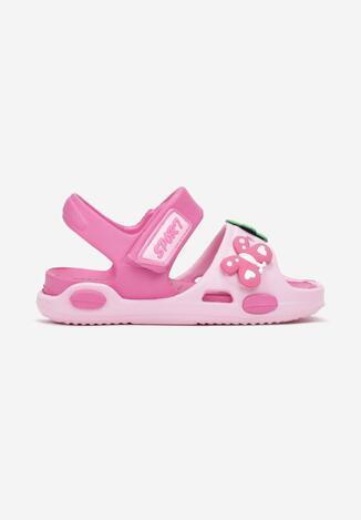 Sandale Roz cu fucsia