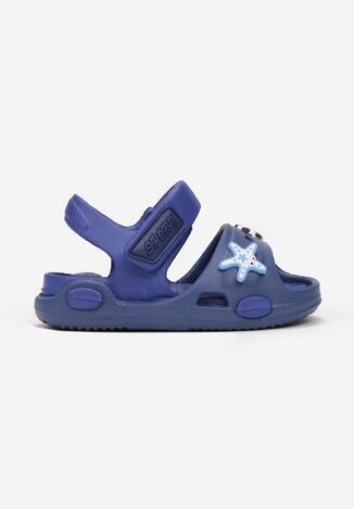 Sandale Bleumarin cu albastru