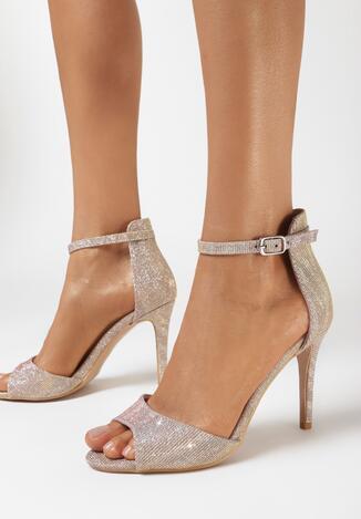 Sandale Culoarea șampaniei