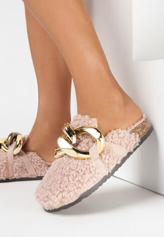 Papuci de casă Roz