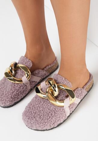 Papuci de casă Mov