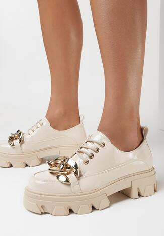 Pantofi casual Bej