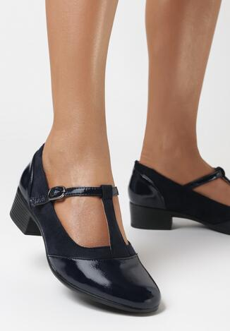Pantofi cu toc Albaștri