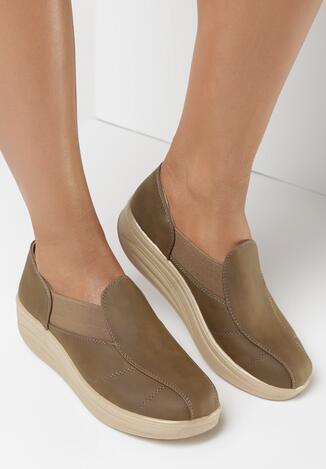 Pantofi casual Kaki