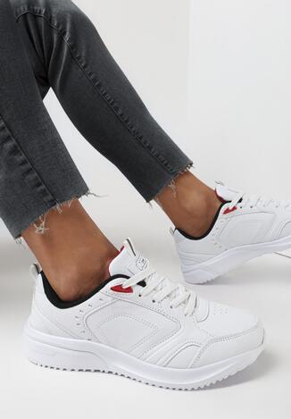 Pantofi sport Alb cu negru