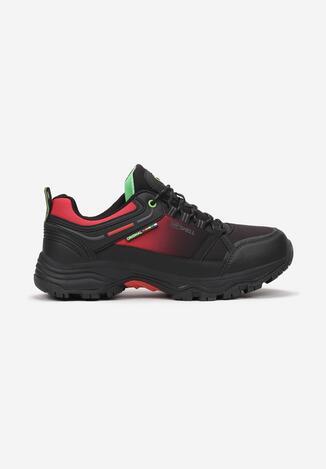 Pantofi trekking Negru cu verde