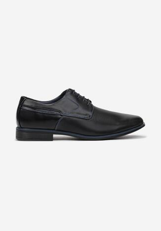 Pantofi casual Negru cu albastru