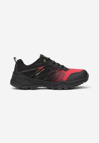 Pantofi trekking Roșu cu negru