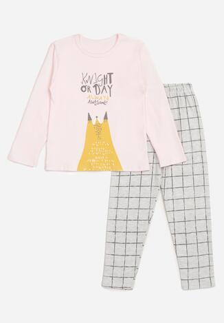 Pijama Roz deschis
