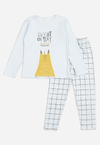 Pijama Albastru deschis