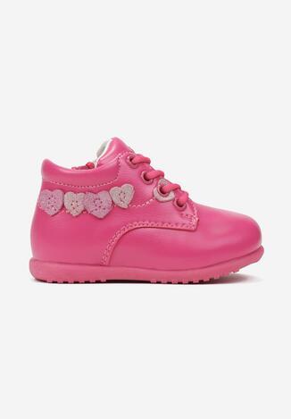 Pantofi casual Fucsia