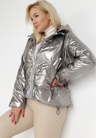 Geacă Argintie