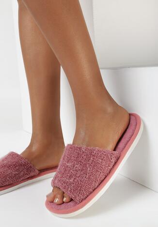 Papuci de casă Roșii