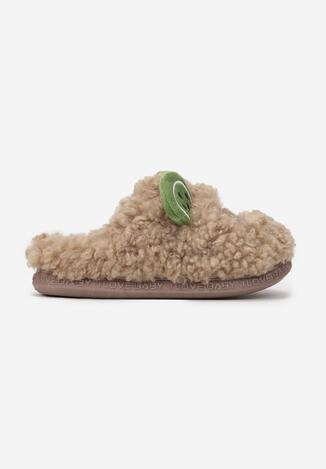 Papuci de casă Maro