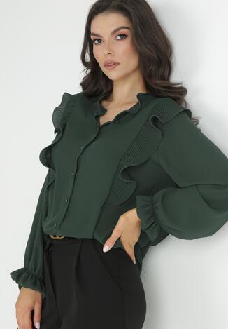 Bluză Verde închis